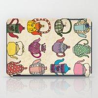 Teapots iPad Case