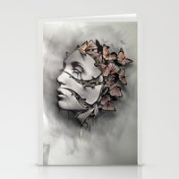 Metamorfosis  Stationery Cards