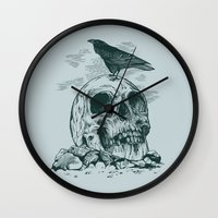 Raven's Cliff Wall Clock