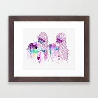 ▲GIRLS▲ Framed Art Print