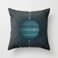 Throw Pillow featuring Aura by Threadzone