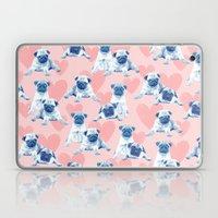 Pug love Laptop & iPad Skin