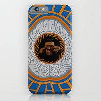 brain iPhone & iPod Cases featuring Brain by Canson City