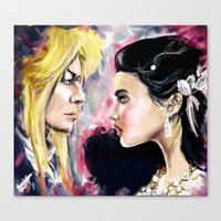 Jareth and Sarah Canvas Print