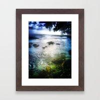 Dreamy Beach Framed Art Print