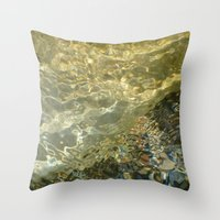 H2O #100 Throw Pillow