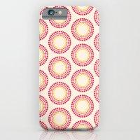 Retro happy bright floral 1 iPhone 6 Slim Case
