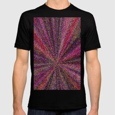 Nova-Explosion Mens Fitted Tee Black SMALL