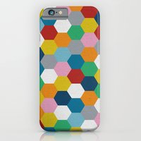 iPhone & iPod Case featuring Honeycomb 3 by Project M