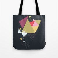 Exploding Triangles//Four Tote Bag