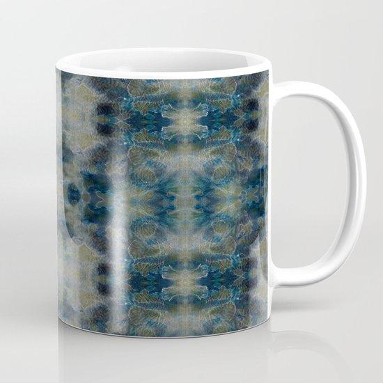 Dark Blue kaleidoscopic Mug