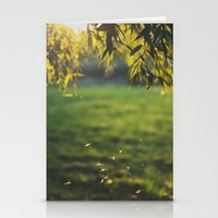 DANCING IN THE SUNSET. Stationery Cards
