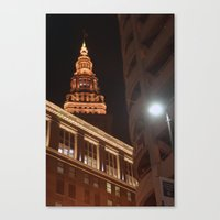 Night Lights... Canvas Print