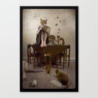 Beatrix' Revenge Canvas Print