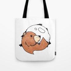 Moonbear Tote Bag