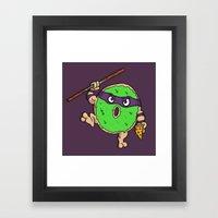 Donutello Framed Art Print