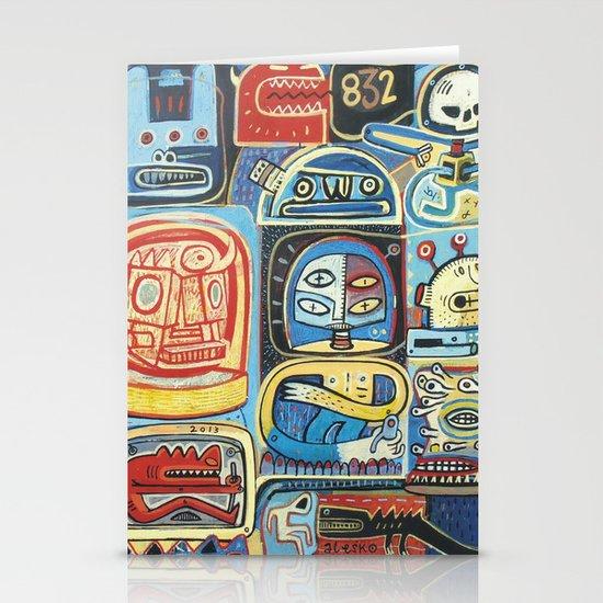 Démon 832 Stationery Card