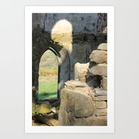 Tower Ruins Art Print