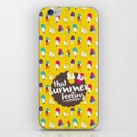 That summer feeling iPhone & iPod Skin