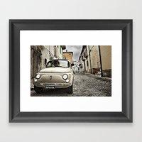 500 - Roccasicura, Italy Framed Art Print