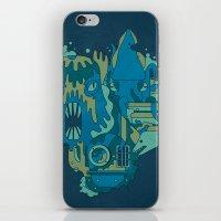 Deep Blue Sea iPhone & iPod Skin
