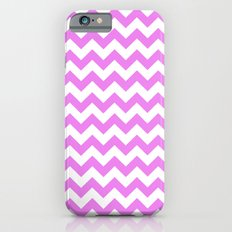 Chevron (Violet/White) iPhone 6 Slim Case