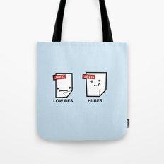 LORES or HI RES Tote Bag