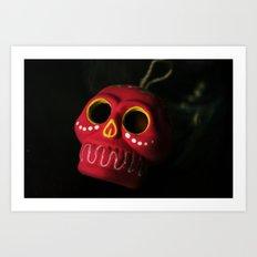 Mexo Skull Art Print