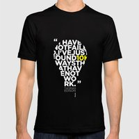 Esperantos Quotes #2 (To… Mens Fitted Tee Black SMALL