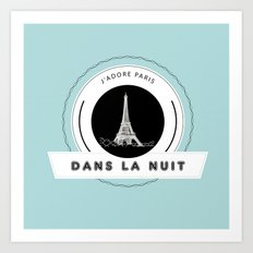 Paris tiffany blue Art Print