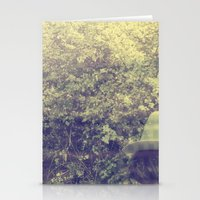 spring walk Stationery Cards