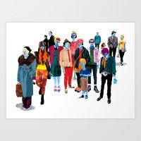 Pandilla Art Print