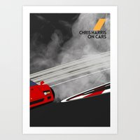 Drive - Chris Harris on Cars Art Print