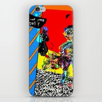 And How Was Your Day? iPhone & iPod Skin