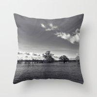 Water World... Throw Pillow