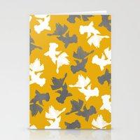 Goldfish Pattern Stationery Cards