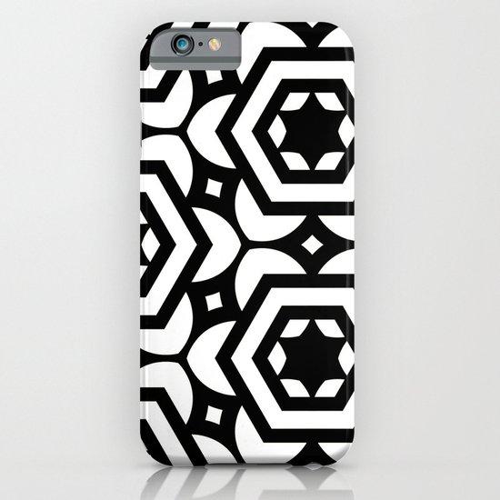 Vogelaar Black & White Pattern iPhone & iPod Case