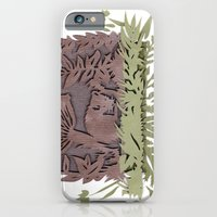 iPhone & iPod Case featuring Sleeping Mouse by Katy Betz