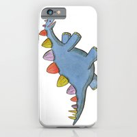 iPhone & iPod Case featuring Stomp-a-saurus! by Theresa Flaherty