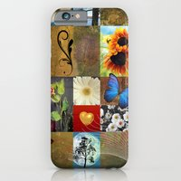 iPhone & iPod Case featuring flowers  by mark ashkenazi