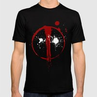 Deadpool. Mens Fitted Tee Black SMALL