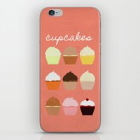 Baker's Joy Collection: Cupcakes iPhone & iPod Skin