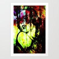Dirty Monroe 2 Art Print