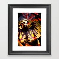 L'invasion Madonna Framed Art Print