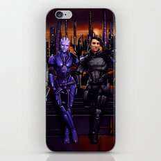 Mass Effect - Team of Awesomness iPhone & iPod Skin