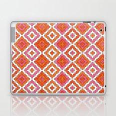 Macrame Red Laptop & iPad Skin