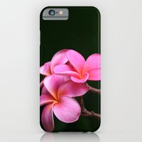 iPhone & iPod Case featuring Pink Plumeria by Sharon Mau