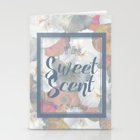 The Sweet Scent of Spring Stationery Cards