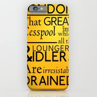 iPhone & iPod Case featuring Holmesian London by Alex Sutcliffe