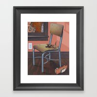 Crash Framed Art Print